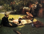 James Jacques Joseph Tissot - Bilder Gemälde - In the Sunshine