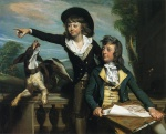 John Singleton Copley - paintings - Charles Callis Western and his Brother Shirley Western