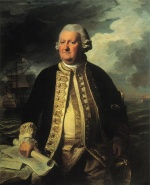 John Singleton Copley - paintings - Clark Gyton (Admiral of the White)