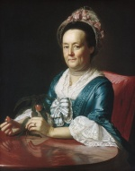 John Singleton Copley - paintings - Mrs. John Winthrop