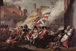 John Singleton Copley - paintings - The Death of a Major