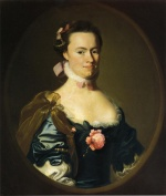John Singleton Copley - paintings - Lydia Lynde