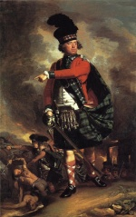 John Singleton Copley - paintings - Major Hugh Montgomerie