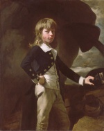 John Singleton Copley - paintings - Midshipman Augustus Brine