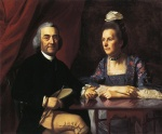John Singleton Copley - paintings - Mr. and Mrs. Isaac Winslow Jemina Debuke