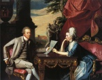 John Singleton Copley - paintings - Mr. and Mrs. Ralph Izard Alice Delancey
