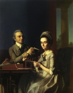 John Singleton Copley - paintings - Mr. and Mrs. Thomas Mifflin Sarah Morris