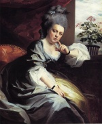 John Singleton Copley - paintings - Mrs. Clark Gayton