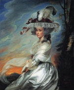 John Singleton Copley - paintings - Mrs. Daniel Denison Rogers Abigail Bromfield