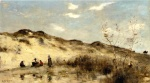 Jean Baptiste Camille Corot - paintings - A Dune at Dunkirk