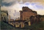 Jean Baptiste Camille Corot - paintings - Basilica of Constantine