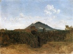 Jean Baptiste Camille Corot - paintings - Civita Castellana and Mount Soracte
