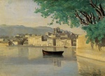 Jean Baptiste Camille Corot - paintings - Geneva View of Part of the City