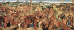 Hans Memling - Bilder Gemälde - Advent and Triumph of Christ