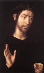 Hans Memling - Bilder Gemälde - Man of Sorrows