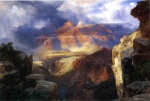 Thomas Moran - Bilder Gemälde - A Miracle of Nature