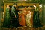 Dante Gabriel Rossetti - Bilder Gem�lde - Dantes Dream at the Time of the Death of Beatrice