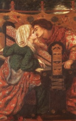 Dante Gabriel Rossetti - Bilder Gem�lde - King Renes Honeymoon