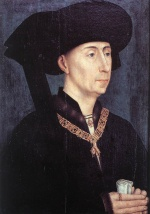 Rogier van der Weyden  - Bilder Gemälde - Portrait of Philip the Good