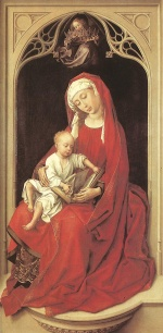 Rogier van der Weyden  - Bilder Gemälde - Virgin and Child (Duran Madonna)