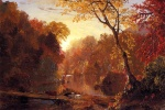 Frederic Edwin Church - Bilder Gemälde - Autumn in North America