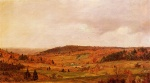 Frederic Edwin Church - Bilder Gemälde - Autumn Shower