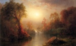 Frederic Edwin Church - Bilder Gemälde - Autumn