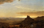 Frederic Edwin Church - Bilder Gemälde - Cross in the Wilderness