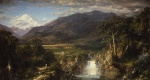 Frederic Edwin Church - Bilder Gemälde - Heart of the Andres