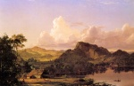 Frederic Edwin Church - Bilder Gemälde - Home by the Lake