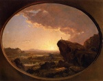 Frederic Edwin Church - Bilder Gemälde - Moses Viewing the Promised Land