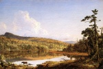 Frederic Edwin Church  - paintings - North Lake