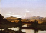 Frederic Edwin Church  - paintings - On Otter Creek