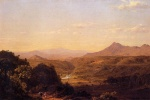 Frederic Edwin Church  - paintings - Scene Among the Andes