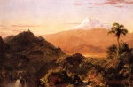 Frederic Edwin Church  - paintings - South American Landscape