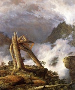 Frederic Edwin Church  - paintings - Storm in the Mountains