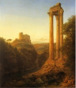 Frederic Edwin Church  - paintings - Sunrise in Syria