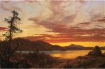 Frederic Edwin Church  - paintings - Sunset