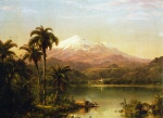 Frederic Edwin Church  - paintings - Tamaca Palms