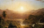 Frederic Edwin Church  - paintings - The Andes of Equador