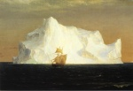 Frederic Edwin Church  - paintings - The Iceberg