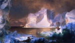 Frederic Edwin Church  - paintings - The Icebergs