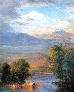 Frederic Edwin Church  - paintings - The Magdalena River Equador