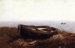 Frederic Edwin Church  - paintings - The Old Boat (The Abandoned Skiff)