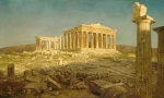 Frederic Edwin Church  - paintings - The Parthenon