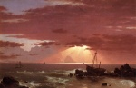 Frederic Edwin Church  - paintings - The Wreck