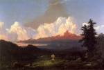 Frederic Edwin Church  - paintings - To the Memory of Cole