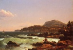Frederic Edwin Church  - paintings - View of Newport Mountain Mount Desert
