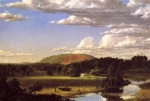 Frederic Edwin Church  - paintings - West Rock New Haven