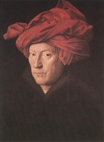 Jan van Eyck - Bilder Gemälde - Man in a Turban
